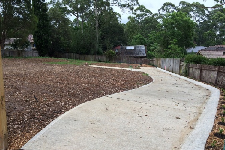 Subdivision Design, Project Management and Supervision of Residential Subdivision Wahroonga, NSW