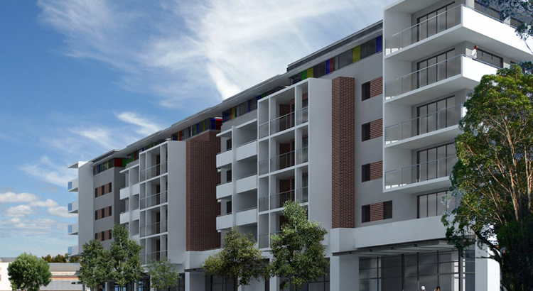 D.A. & approval for mixed use commercial / residential development - 100 Units  Homebush, NSW